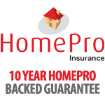 Homepro Backed Guarantee